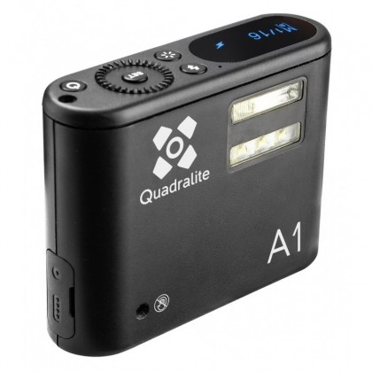 Quadralite A1 1W LED smartphone monolight