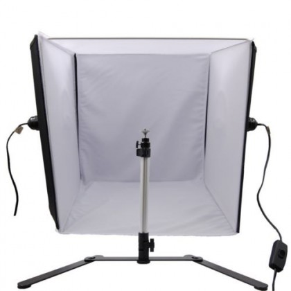 SHADOWLESS PHOTOGRAPHIC LIGHT TENT CUBE 60x60x60 cm