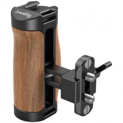 SMALLRIG 2978 Wooden Side Handle Nato (with rail)