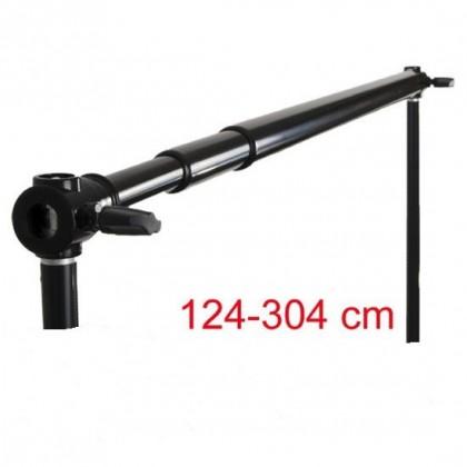 Fonu turētājs - Teleskopiska šķērsvirziena fonam 315 cm