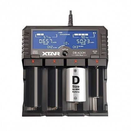 Xtar VP4 Plus Dragon Battery Charger